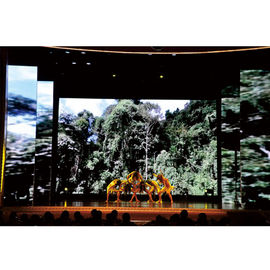 Ultra Thin SMD P3 Indoor Rental Led Screen 192mm * 192mm For Back Stage Background