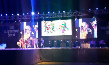 ประเทศจีน Big Advertising Led Display Screen , High Refresh Rate Led Video Screen Rental ผู้ผลิต