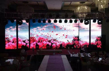 ประเทศจีน Outdoor Full Color Led Display Energy Saving , P3.91 P4.81  HD Led Stage Display Screen โรงงาน